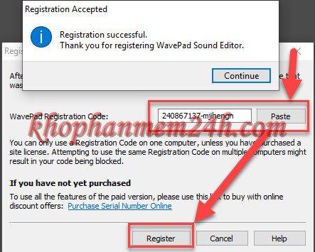 Tải Wavepad Sound Editor full 9.13 mới nhất - Phần mềm chỉnh sửa âm thanh 7