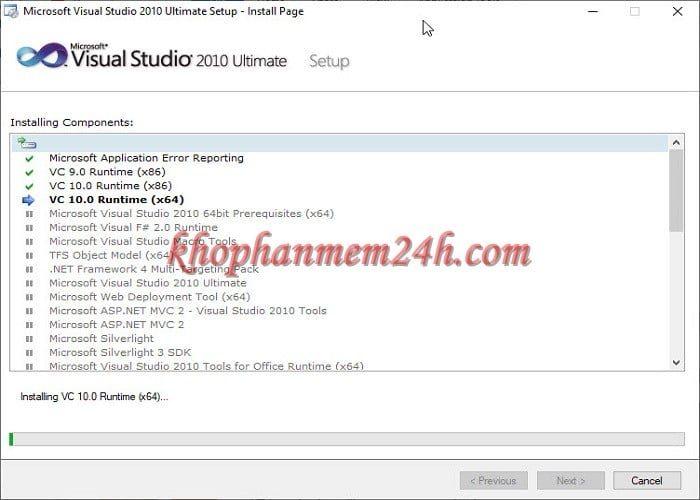 Tải Microsoft Visual Studio 2010 Ultimate full - Hướng dẫn cài đặt chi tiết 8