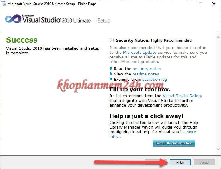Tải Microsoft Visual Studio 2010 Ultimate full - Hướng dẫn cài đặt chi tiết 9