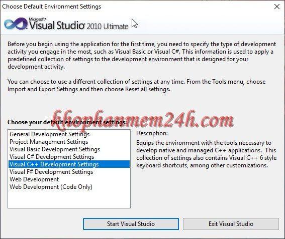 Tải Microsoft Visual Studio 2010 Ultimate full - Hướng dẫn cài đặt chi tiết 10