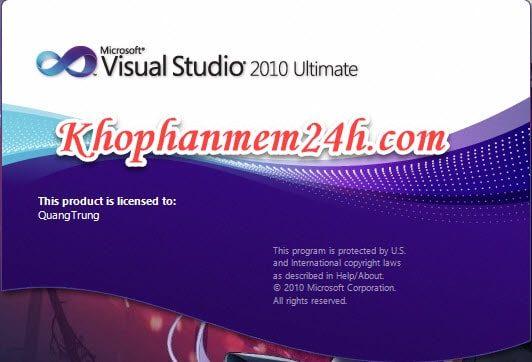 Tải Microsoft Visual Studio 2010 Ultimate full - Hướng dẫn cài đặt chi tiết 1