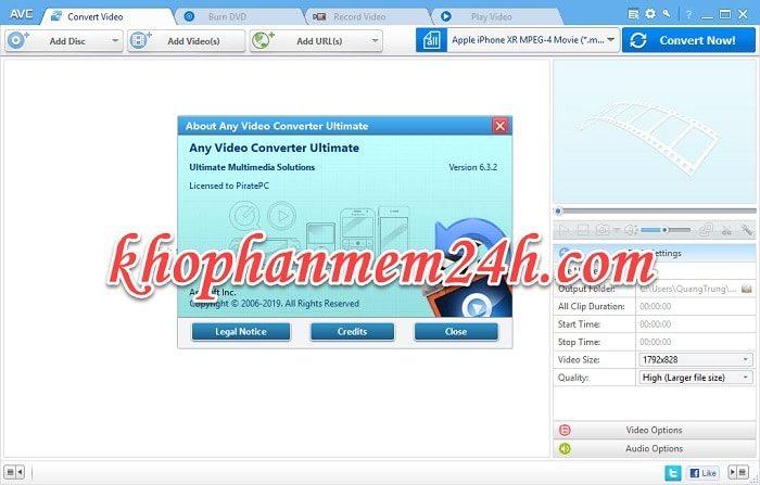 Tải Any Video Converter Ultimate 6.3 full key - Hướng dẫn cài đặt chi tiết 2