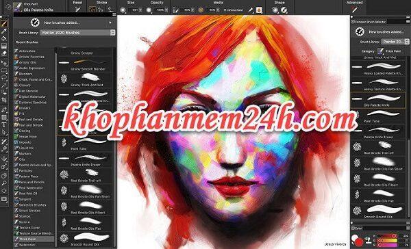 Tải Corel Painter 2020 full key mới nhất - Hướng dẫn cài đặt chi tiết 1