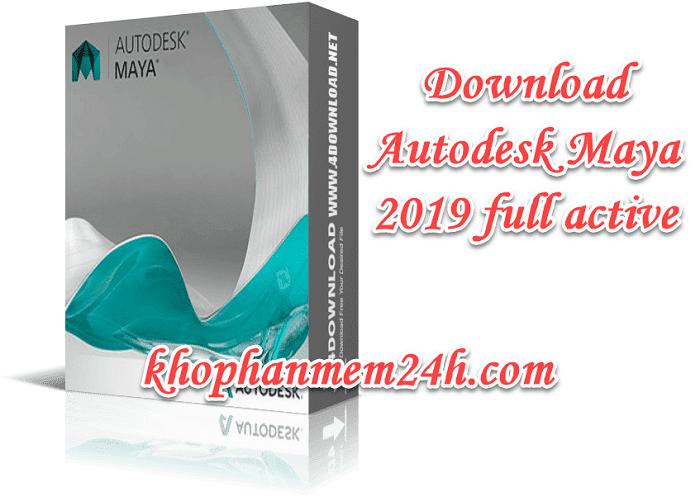 Tải Autodesk Maya 2019 full – Hướng dẫn cài đặt chi tiết