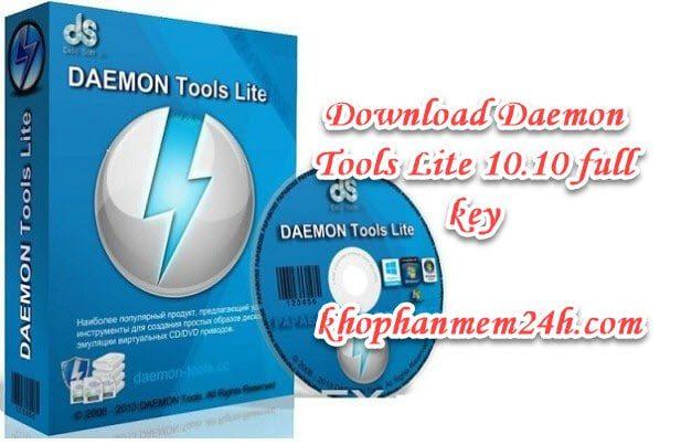 Tải Daemon Tools Lite 10.10 full key – Hướng dẫn cài đặt chi tiết