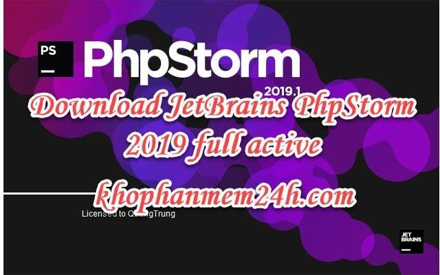 Tải JetBrains PhpStorm 2019 mới nhất - Hướng dẫn cài đặt chi tiết 2