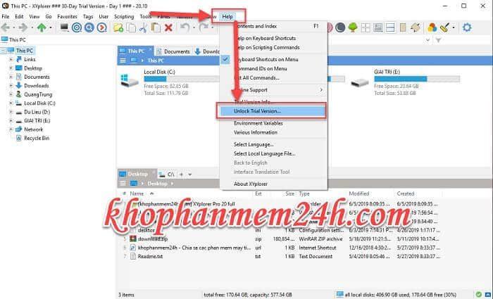 Tải XYplorer Pro 20 full - Phần mềm quản lý file trên máy tính 5