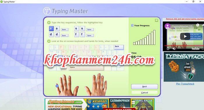 Tải Typing Master Pro 10 full - Hướng dẫn cài đặt chi tiết 1