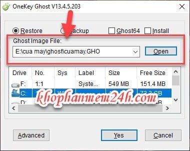 Tải OneKey Ghost mới nhất 2019 - Cách dùng OneKey Ghost 7