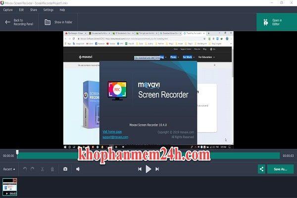 Download Movavi Screen Recorder 10.4 full - Hướng dẫn cài đặt chi tiết 2