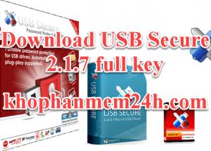 [Link Tốc Độ] Download USB Secure 2.1.7 Full Key Mới Nhất
