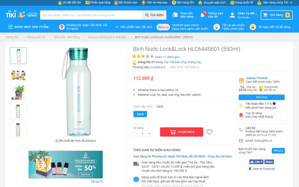 Cách mua hàng trên Tiki bằng máy tính nhanh gọn, được giảm giá 2