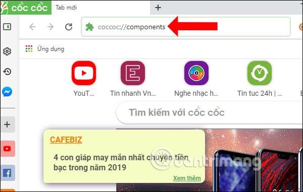 [Fix Lỗi] Không Vào Được Coccoc://Plugins – Không Tải Được Plugins