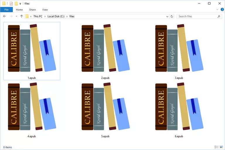 Cách mở file EPUB