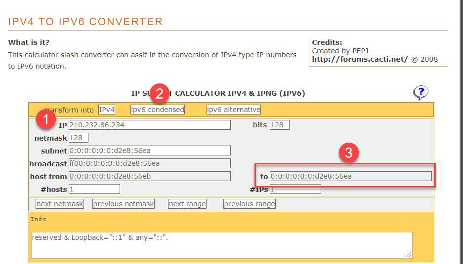 cách chuyển IPv4 sang IPv6